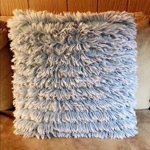 Ruffled Shag Pillow